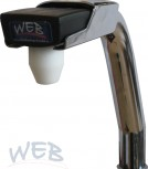 WEB Bargun mount suitable turn to port, chrome-plated
