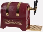 Glühweinerhitzer 9KW / 3-ltg / Fassform + Pumpe