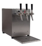 Hot Drink Dispenser / 3 Taps + air compressor + counter