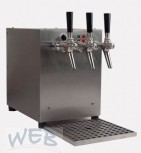 Hot Drink Dispenser / 3 Taps + electric pumps + Counter