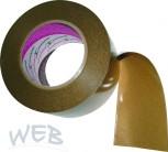 Klebeband doppelseitig 75mm x 50m Polyester-Klebeband für Folienv